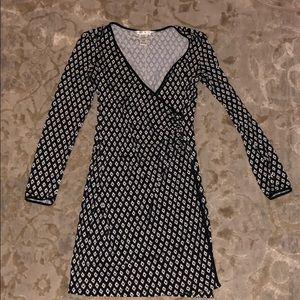 Max studio faux wrap dress